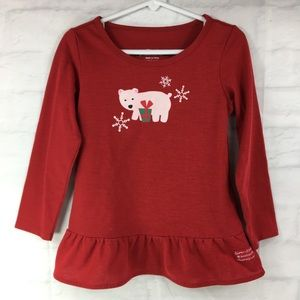 American Girl Shirts & Tops - American Girl holiday t shirt long sleeve XS (6)